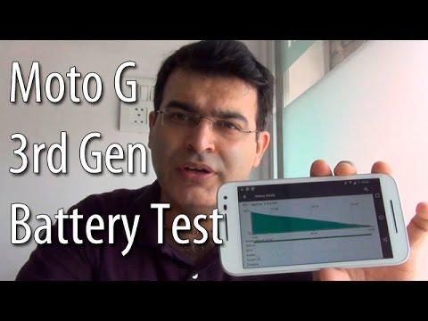 Motorola Moto G 3rd Generation Battery Test- Lasts For 3+ Days!