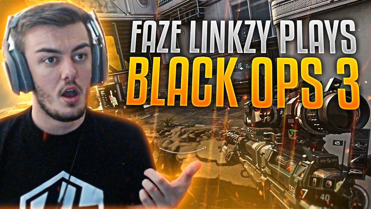 Faze Linkzy Plays Black Ops 3 Youtube