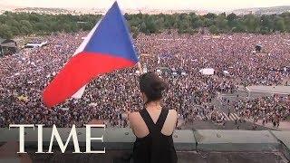 Massive Protest In Prague Calls For Prime Minister Andrej Babis To Resign | TIME