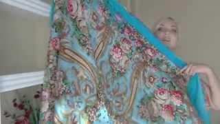 павловопосадкие   платки... моя коллекция за годы.. Thumbnail