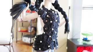 뜨개질 없이 쉽게 인형 스웨터 만들기 | Super E…