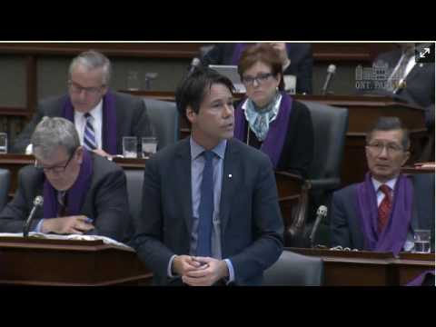 MPP MacLeod Asks Health Minister to  Keep Ottawa Hospital Civic Campus on Experimental Farm