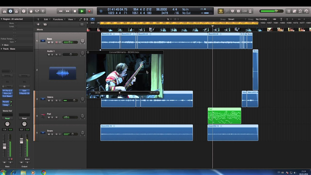 Logic Pro X To Windows 7 Youtube