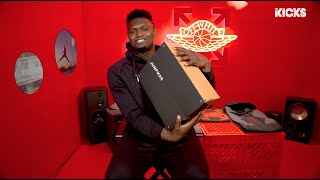 1-OF-1 JORDANS? B/R KICKS MY ROAD ROTATION WITH ZION WILLIAMSON