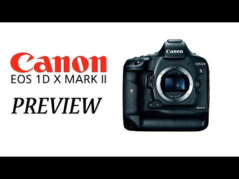 Canon EOS 1D X Mark II  P en Español