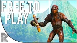 Ark Survival of the Fittest - Part 1: CLOSE CALLS!  (Free to Play)