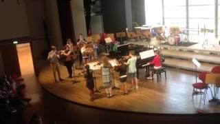 Jacques Casterede, Chant de Solitude für 2 Klaviere, Flöte,