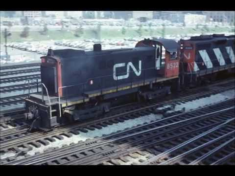 Toronto Union Station August 1979 Part One! By Jim Gray