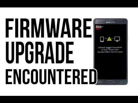 [Samsung TAB 2 10.1] Firmware upgrade encountered an issue ...