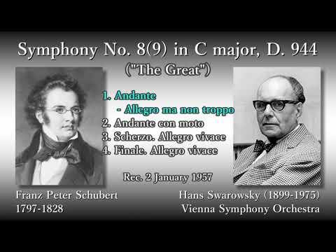 Schubert: Symphony No. 8(9) `The Great`, Swarowsky (1957) シューベルト 交響曲第8(9)番 スワロフスキー