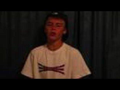Justin singing DO YOU by Ne-yo - Request