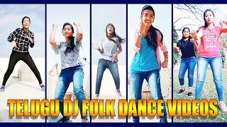 Telugu folk dj song dubsmash videos Telugu folk songs tik tok telugu dance dj tiktok girls dj dance