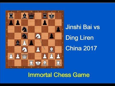 Jinshi Bai vs Ding Liren: China 2017