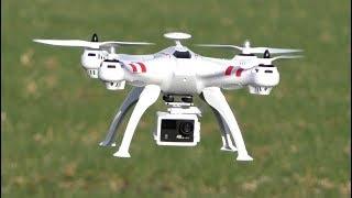 BAYANGTOYS X16 Лучший бюжетный квадрокоптер с GPS и БЕЗКОЛЛЕКТОРНЫМИ МОТОРАМИ