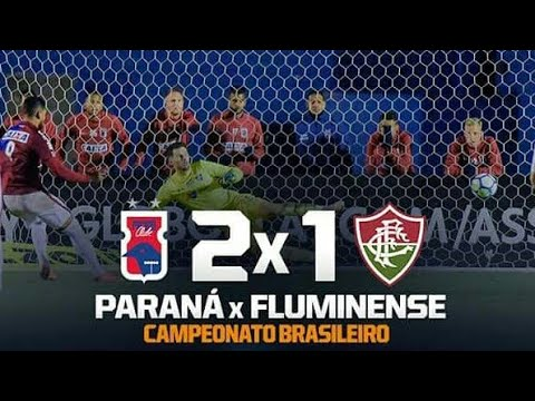 Melhores Momentos & Gols: Paraná 2 x 1 Fluminense (Completo) pelo Campeonato Brasileiro 04/06/2018