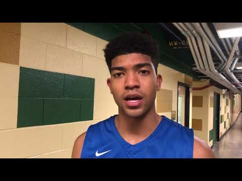 Boise State's Chandler Hutchison after 87-54 win at Colorado State