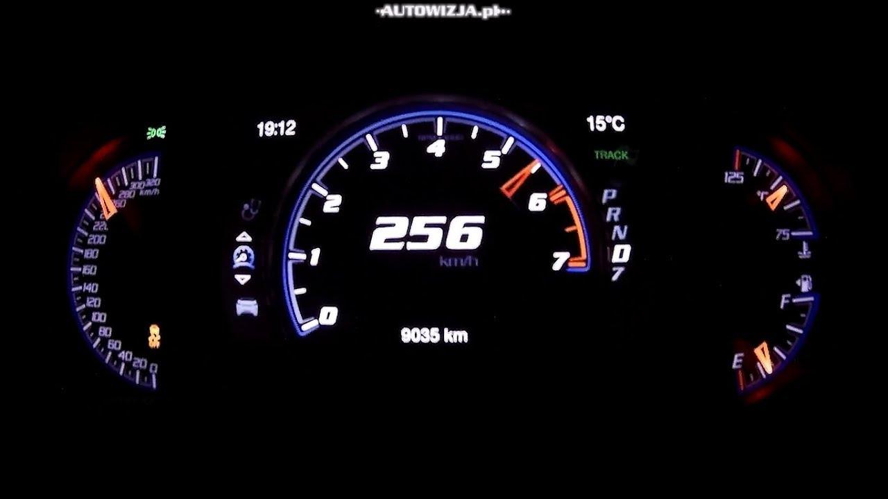 Jeep Grand Cherokee Trackhawk 6 2 V8 707 Hp Acceleration 0 100 Km H 0 200 Km H 0 250 Km H Youtube