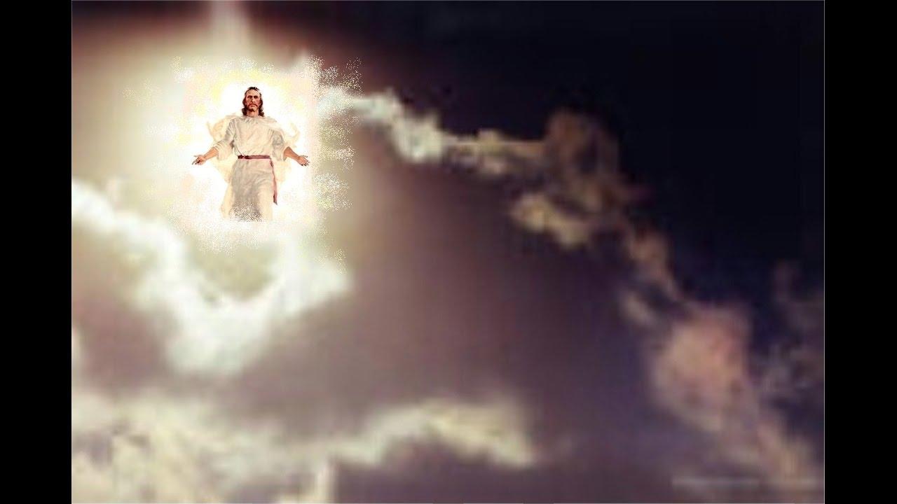Bildergebnis für jesus appears in the clouds for the raüture images