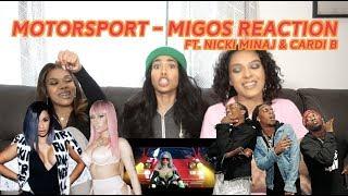 MotorSport - Migos (Music Video Reaction)🔥👏🏽😜 | CERAADI