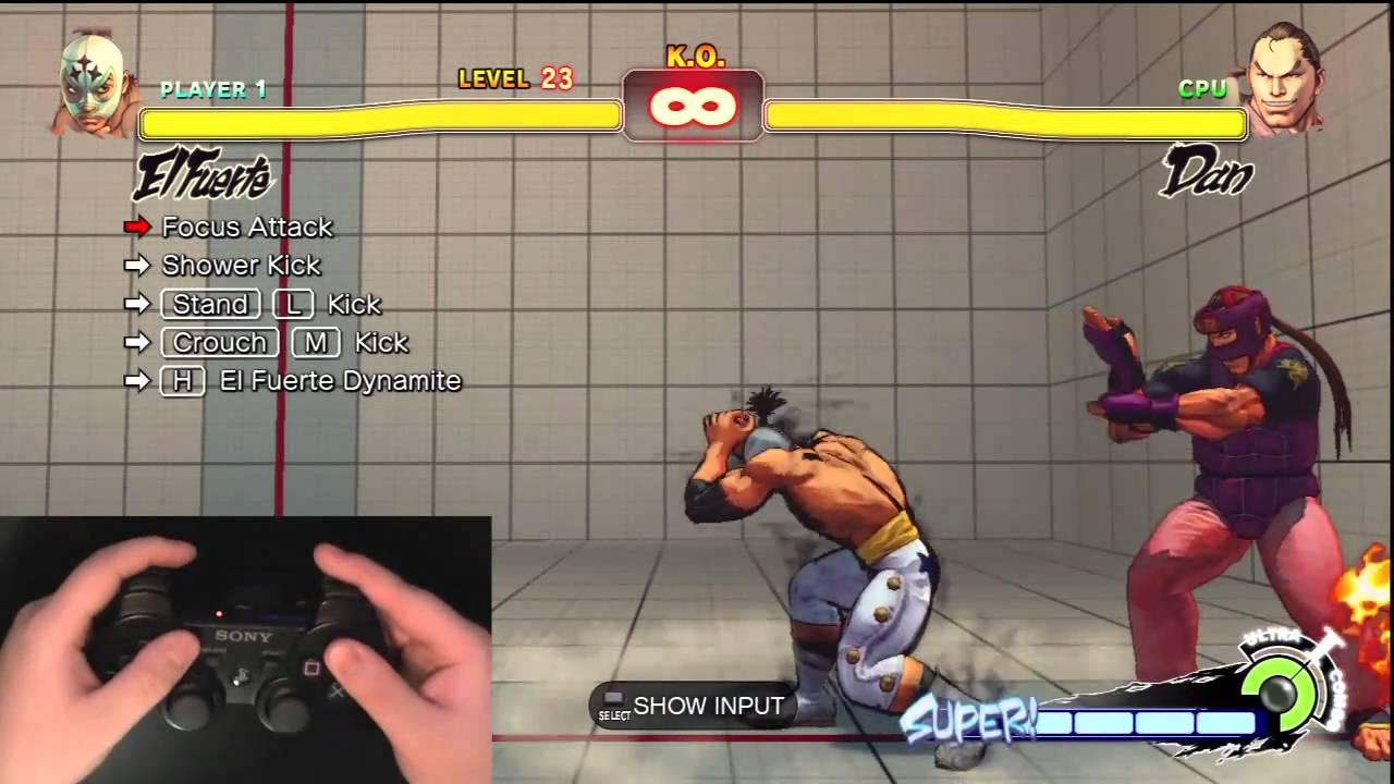 Super Street Fighter 4 Trials - Controller Pad No Music