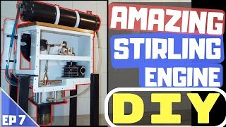 🔴[TUTO] INCROYABLE MOTEUR STIRLING / AMAZING STIRLING ENGINE : THE LAST EPISODE (S1 Ep7)