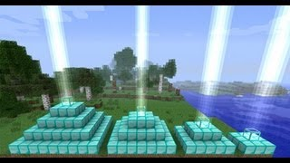 Minecraft how to make a beacon