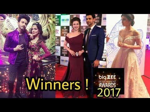 Winners of Big Zee entertainment awards 2017 | Latest Dont Miss !