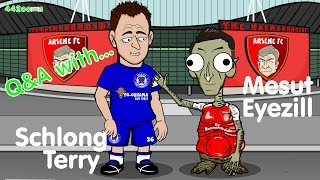 Q&A with John Terry and Mesut Ozil (Parody - Arsenal vs Chelsea 2016 PREVIEW Interview)