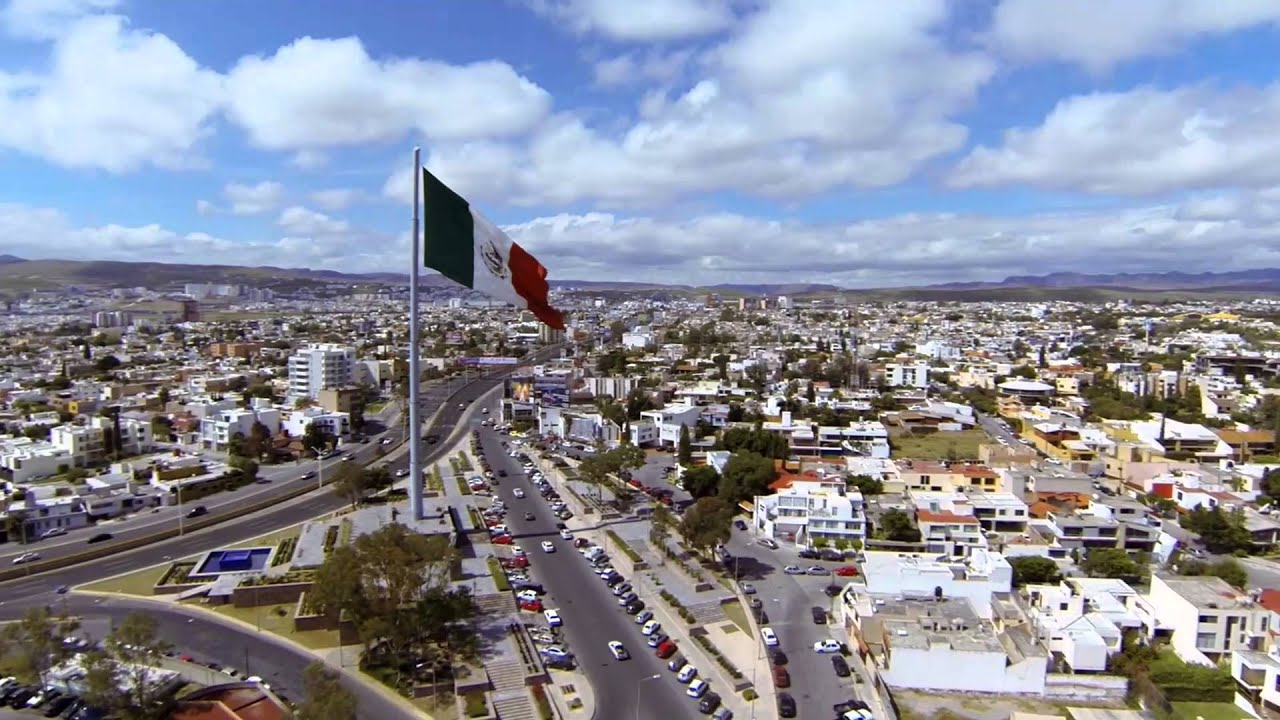 Drone Bandera Monumental San Luis Potos 237 Youtube