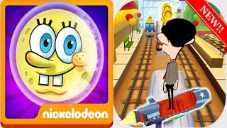 Spongebob Sponge On The Run VS Subway Mr Bean | Android iPad iOS Gameplay