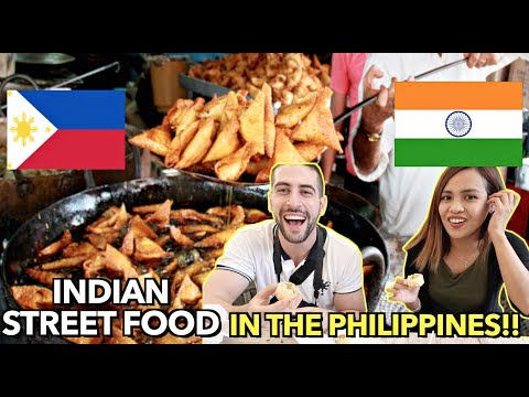 BIGGEST INDIAN Street food in the PHILIPPINES!! Indian Food Festival in BGC