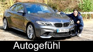 BMW M2 Coupé FULL REVIEW test driven 2-Series 2er 370 hp with Autobahn Performance – Autogefühl