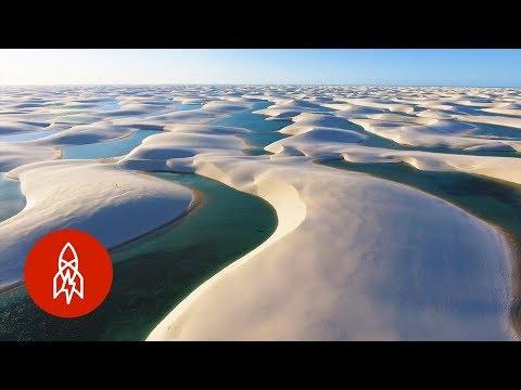 Lagoons Among Dunes: Brazil's Disappearing Desert Oases