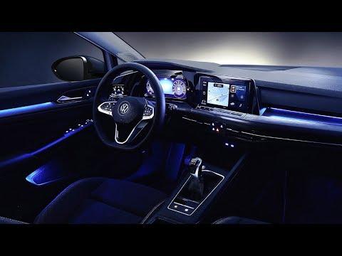 New 2020 VW Golf 8th Gen Interior - Luxury in Budget!