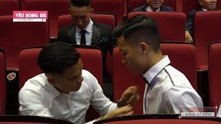 Hậu trường đặc biệt: Quang Hải, Văn Toàn, Bùi tiến Dũng hài hước tại V.League Awards