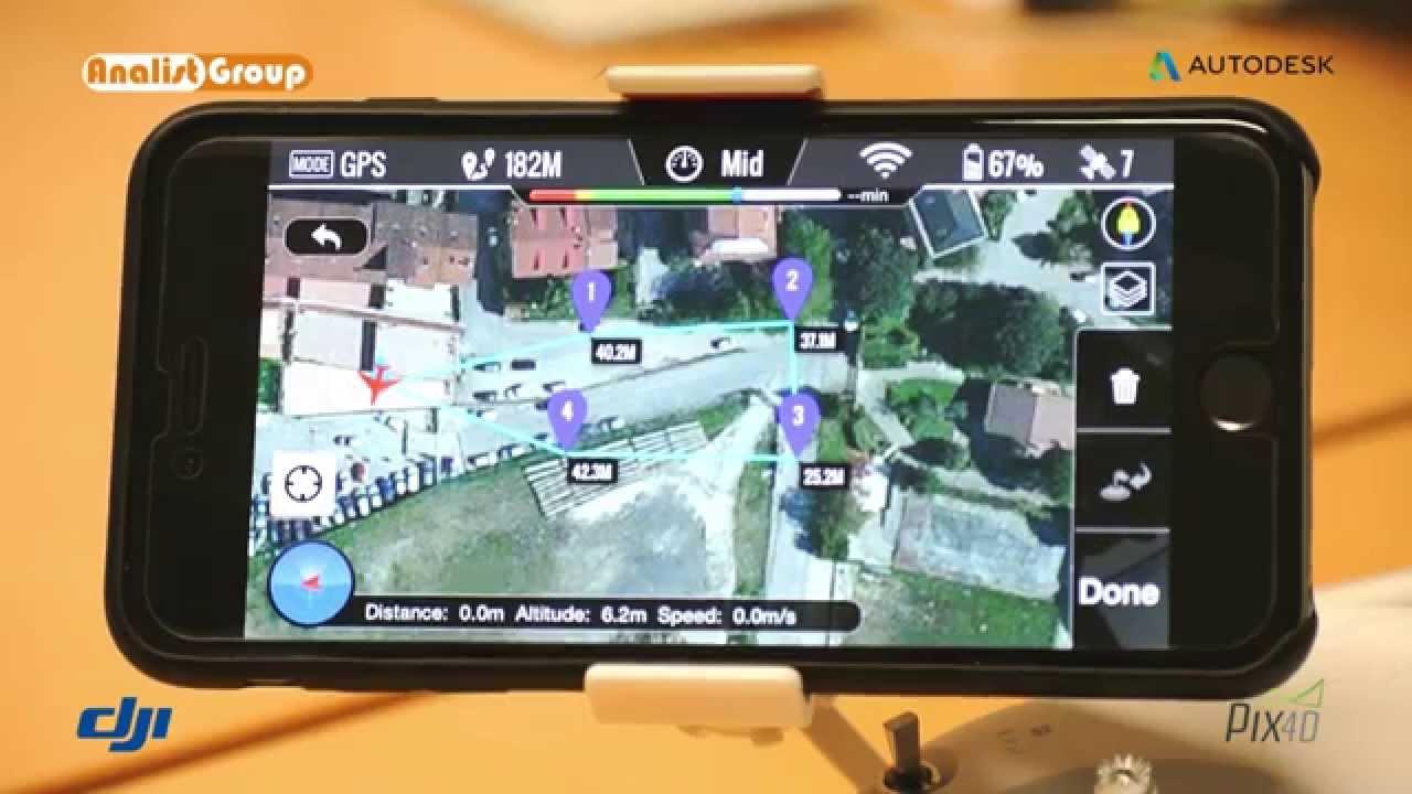 Come creare un piano di volo con l app dji vision youtube for Creare un piano di coperta