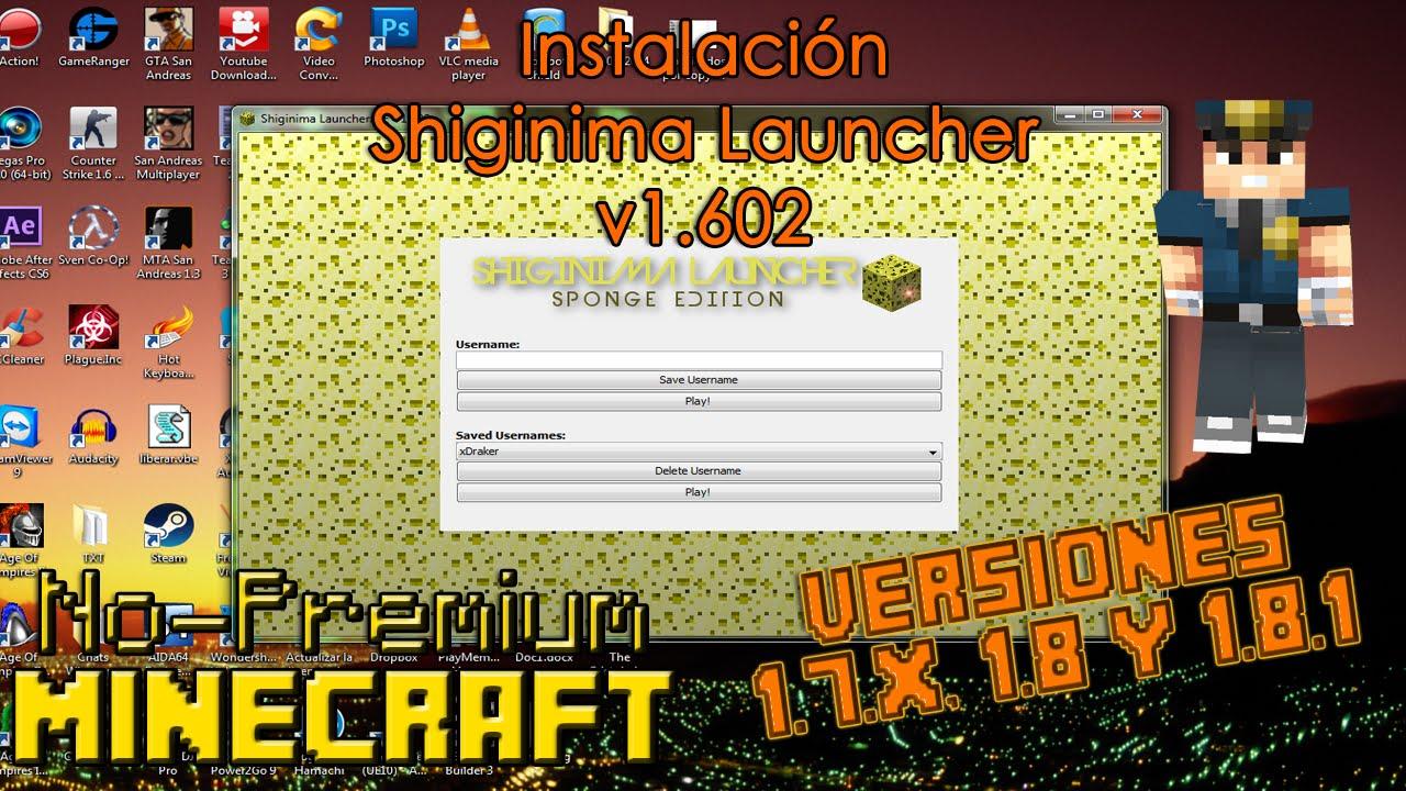 shiginima launcher se v1.602