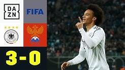 Jogis Junge Wilde um Leroy Sane rocken: Deutschland - Russland 3:0 | Testspiel | DAZN Highlights