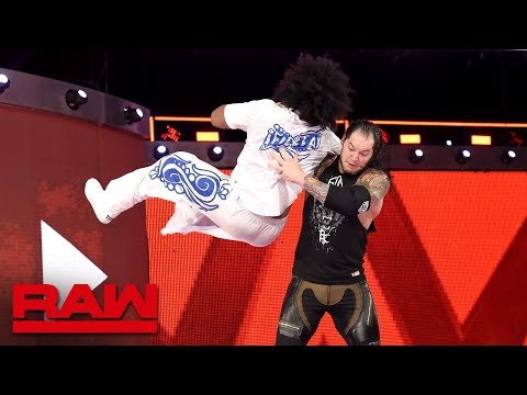 Baron Corbin ambushes No Way Jose: Raw, April 23, 2018