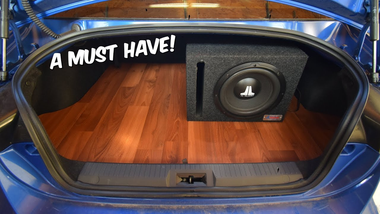 Brz Gets Hardwood Trunk