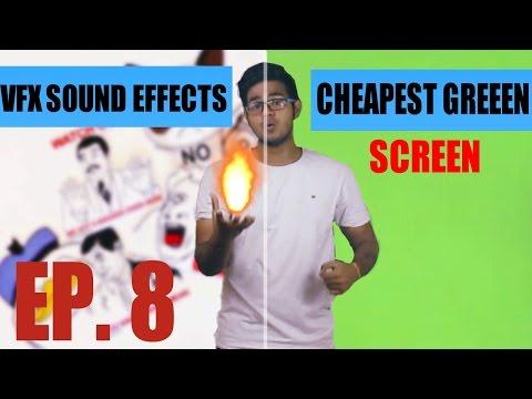 Free Hd Sound FX Packs + Cheapest Green Screen (HINDI) EP 8