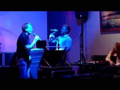 Rex Smith Brandon Smith father and son karaoke time