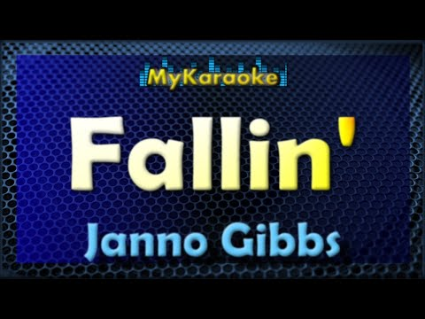Fallin  Karaoke version in the style of Janno Gibbs