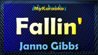Fallin - Karaoke version in the style of Janno Gibbs