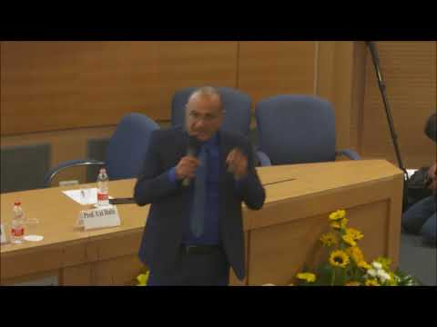 Prof. Uzi Rabi at the 2018 Gandel Forum on the Middle East, TAU