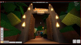 Roblox Jurassic Park River Adventure ride at Universal Studios (read description)