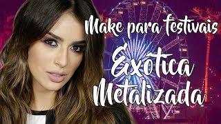 Baixar Make prata para arrasar nos festivais - Coachella, Rock'n Rio, Sertanejo, etc