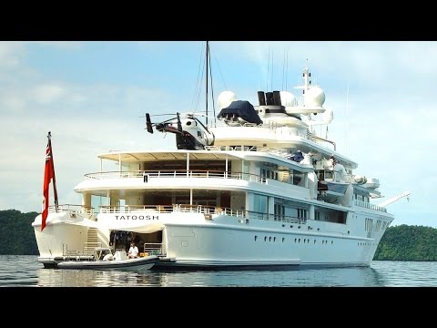 Microsoft Billionaire's Yacht Destroys Protected Coral Reef