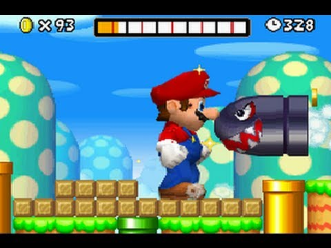 New Super Mario Bros DS - All 18 Secret Exit Locations