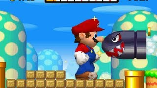 New Super Mario Bros. DS - All 18 Secret Exit Locations (Com...